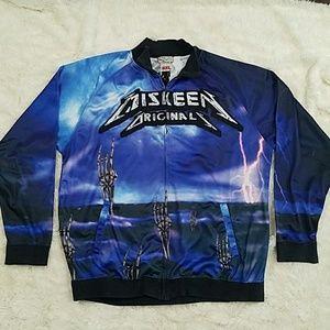 MISKEEN ORIGINALS skeleton storm zip track jacket